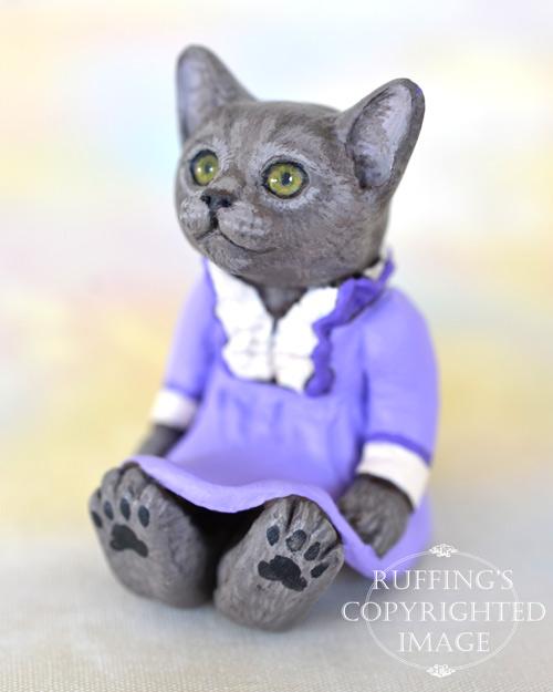 Russian Blue Cat Art Ruffing S Cat Art Dolls Hug Me Slug Plush