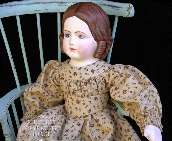 Emily, Original One-of-a-kind Art Doll by Elizabeth Ruffing