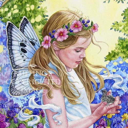 The Fairy and The Dove by Elizabeth Ruffing