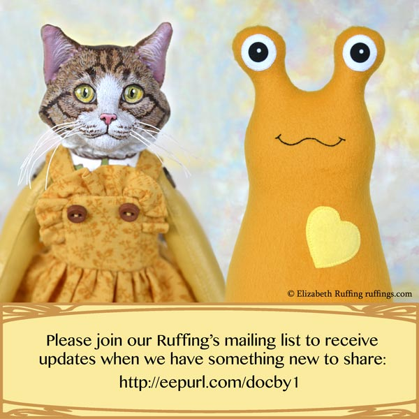 Please join our Ruffings' Friends' Club Mailing list for updates and a 10% off coupon code