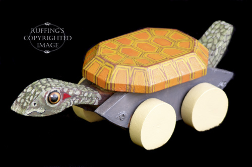 Ruthie, One-of-a-kind Turtle by Max Bailey