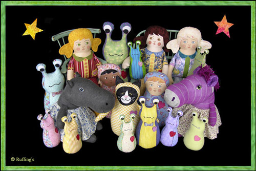 Original One-of-a-kind Art Dolls by Max Bailey and Elizabeth Ruffing