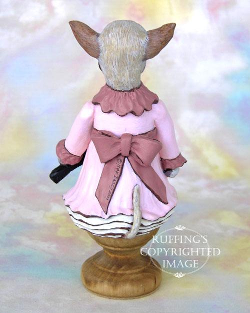 Trina the Chihuahua, Original One-of-a-kind Folk Art Dog Doll Figurine by Max Bailey