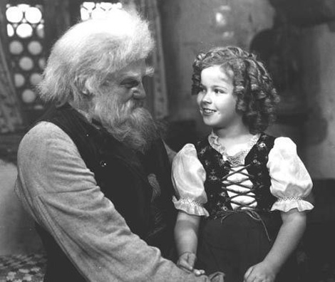 Shirley Temple as Heidi in the 1937 film