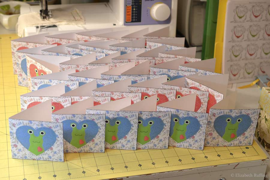 Hug Me Slug thank you cards by Elizabeth Ruffing