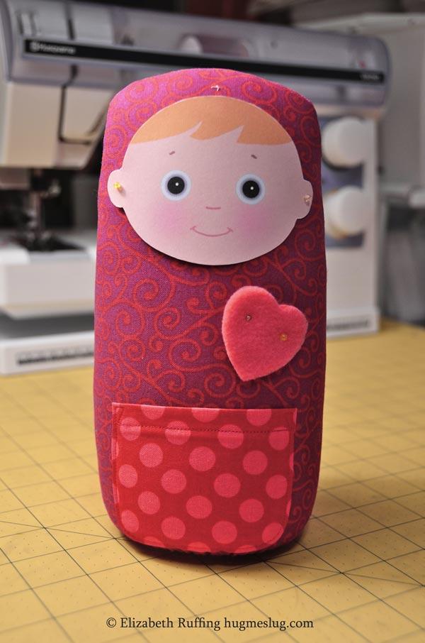 Gumdrop Baby art toy by Elizabeth Ruffing