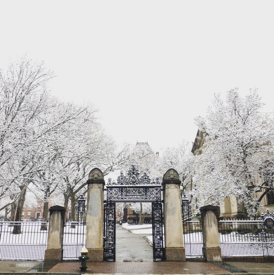Brown College Gates, Main Campus, photo by laaaaandyyyyy