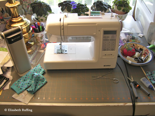 Using my Kenmore sewing machine