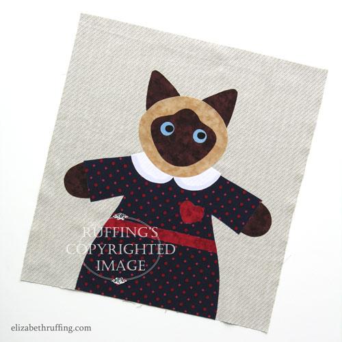 Hug Me! Siamese Kitty by Elizabeth Ruffing