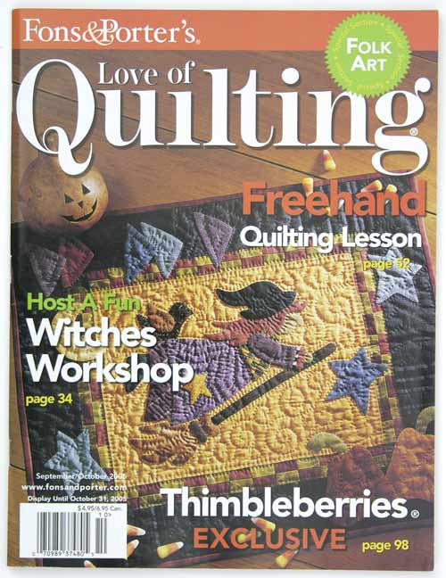 Fons and Porters Love of Quilting September and October 2005