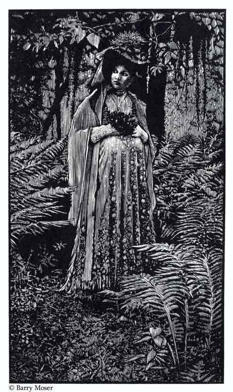 Illustrations by Barry Moser, The Robber Bridegroom by Eudora Welty.