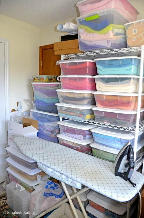 My workroom boxes by Elizabeth Ruffing